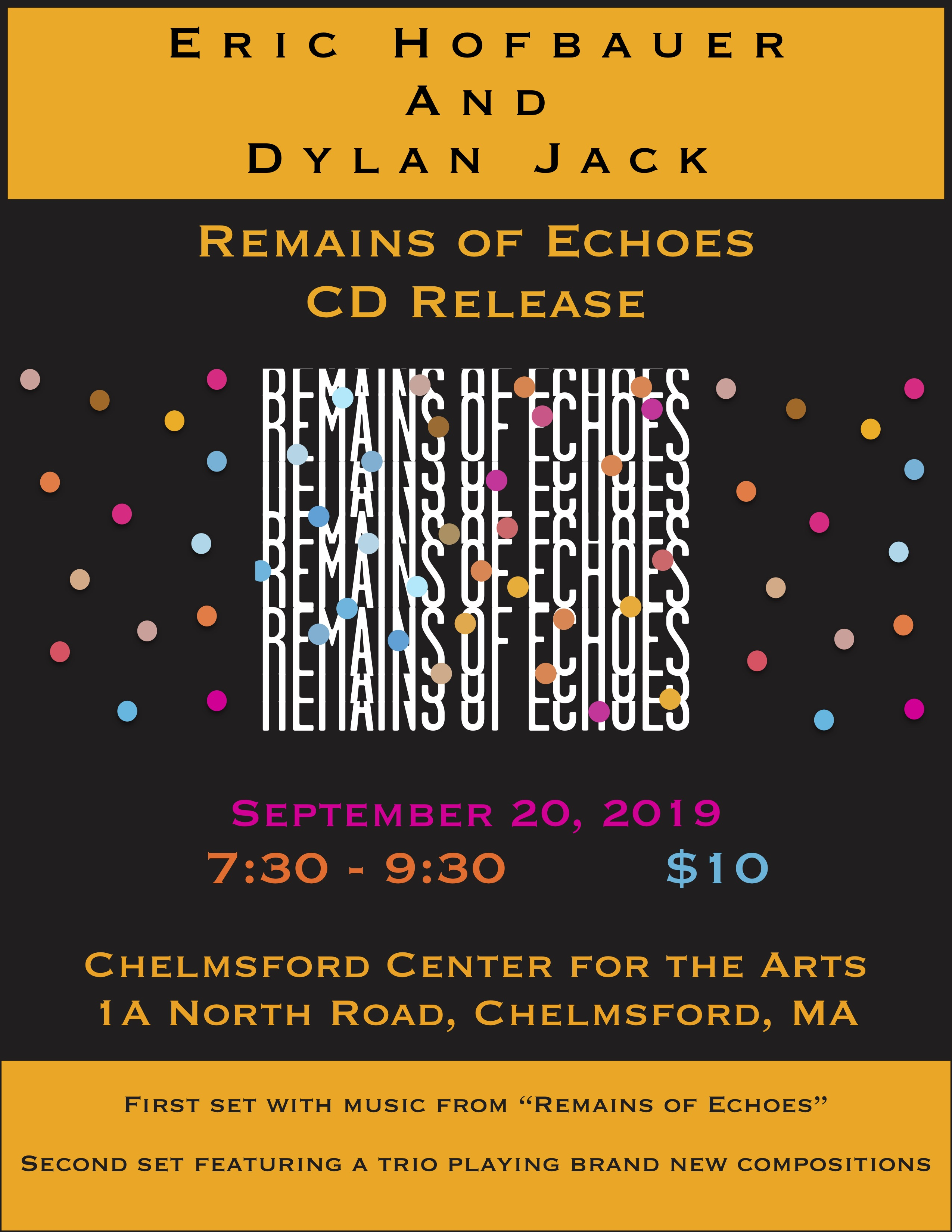 Remains of Echoes flyer